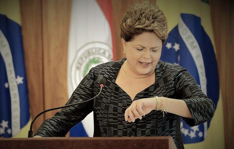 Dilma teme prisão por causa da propina ao MDB na eleição de 2014