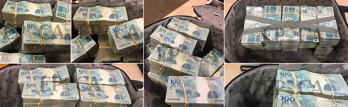 O depósito de dinheiro da JBS que abastecia Temer e Aécio