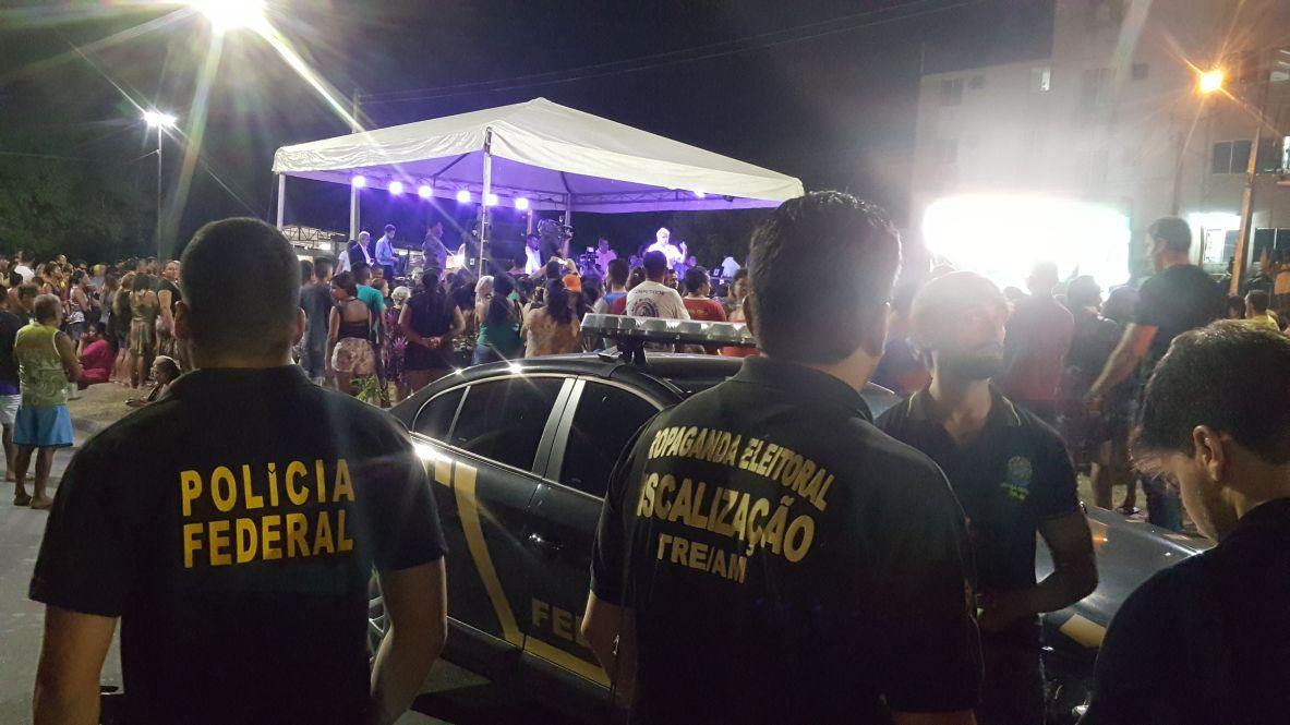 Arthur cancela evento monitorado pelo TRE-AM, MPE e PF