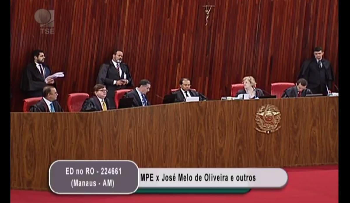 TSE mantém eleição direta e cassação de Melo em menos de 5 minutos