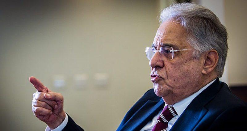 FHC diz ter medo de ser morto a mando de Bolsonaro, caso seja eleito