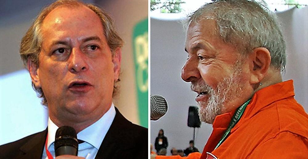 Lula e Ciro conversam e ensaiam reaproximação visando eleições 2022