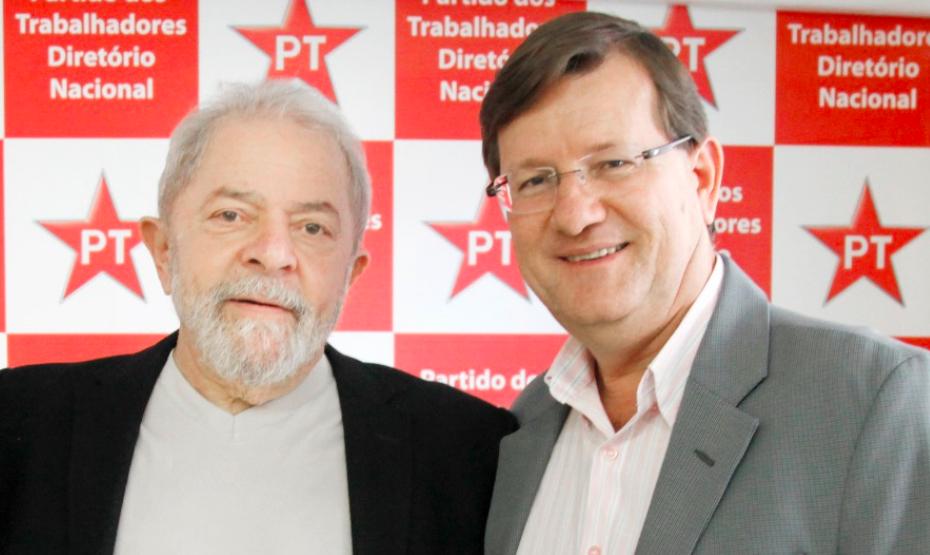 """Deputado troca """"Homem da Kombi"""" por """"Zé Ricardo Lula"""""""