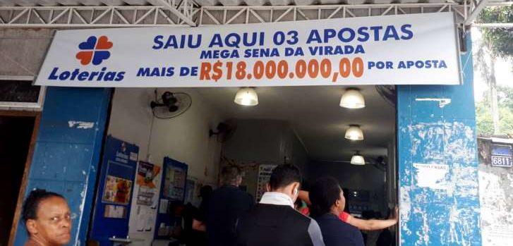 Apostador da Virada se confunde, repete apostas e leva R$ 54 milhões