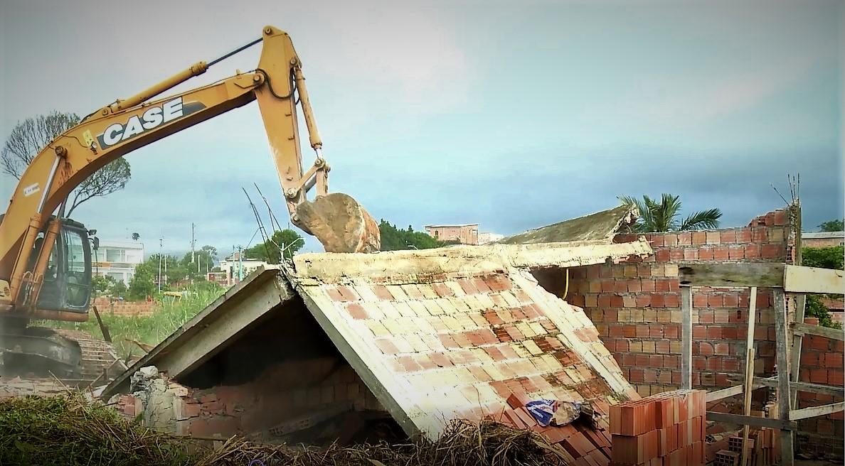 Área da Semed invadida no Águas Claras é desocupada pela prefeitura