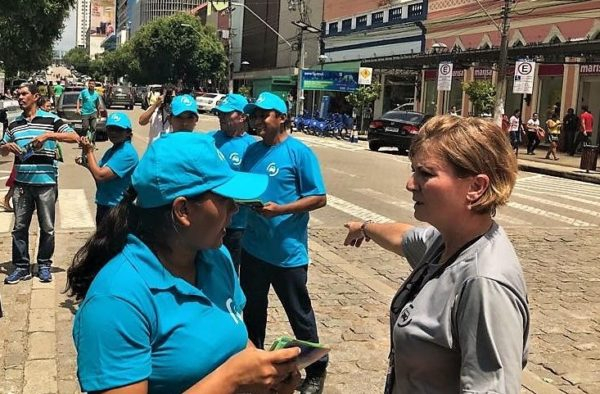 Suspensa cobrança de estacionamento no Zona Azul em Manaus