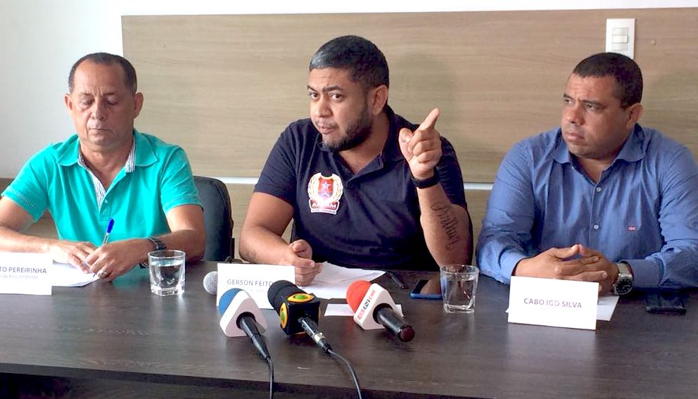 Associações de policiais confirmam 'greve' e Amazonino promove 2 mil