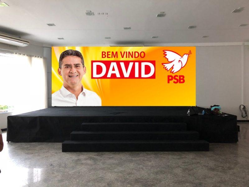 Pré-candidato ao governo, David anuncia filiação ao PSB de Serafim