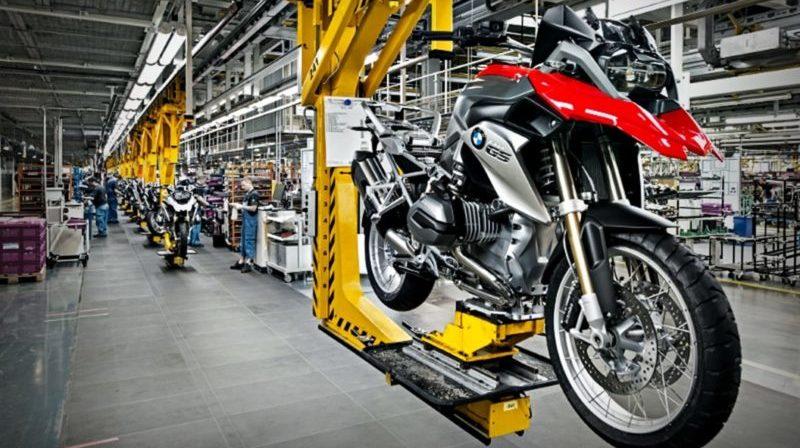 Produção de motocicleta no Brasil cresce 12,2%