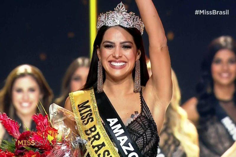 Torcedora do Garantido, jornalista Mayra Dias vence Miss Brasil 2018