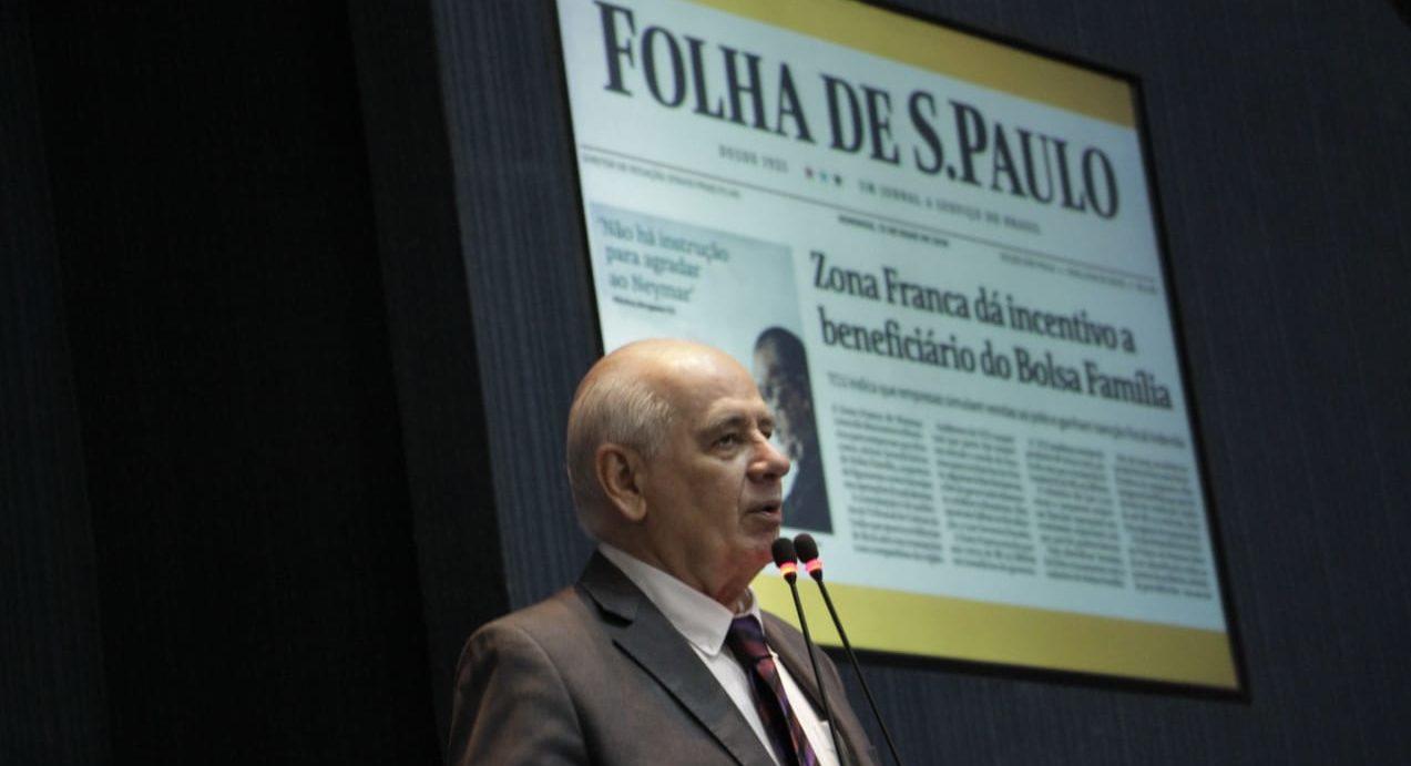 Serafim faz defesa técnica da ZFM ante ataques da imprensa sulista