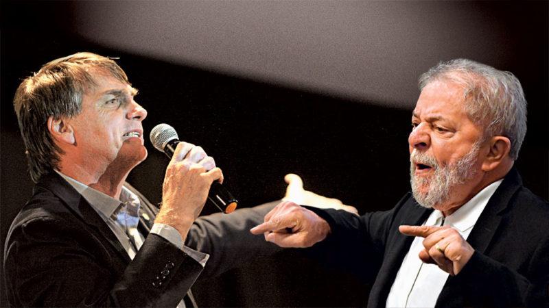 Lula sai em defesa de Bolsonaro e deixa petistas contrariados
