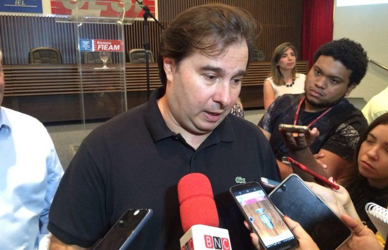 Rodrigo Maia na FIEAM