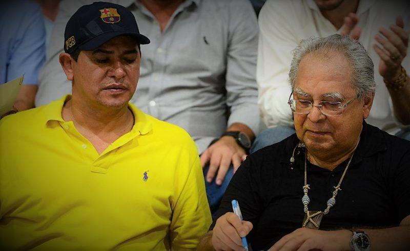 Amazonino garante a prefeitos que obras vão continuar