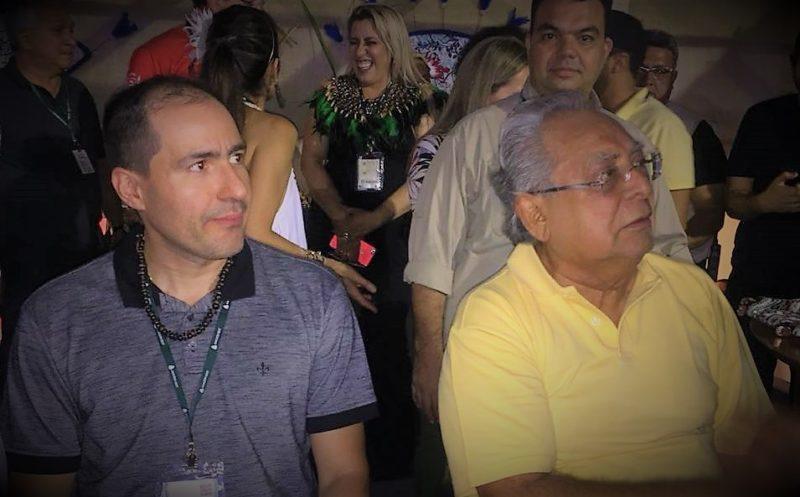 Amazonino e Wesley Aguiar