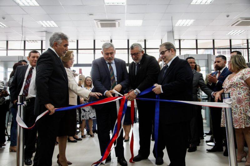 TJAM amplia acesso à justiça com inauguração do novo Fórum Cível