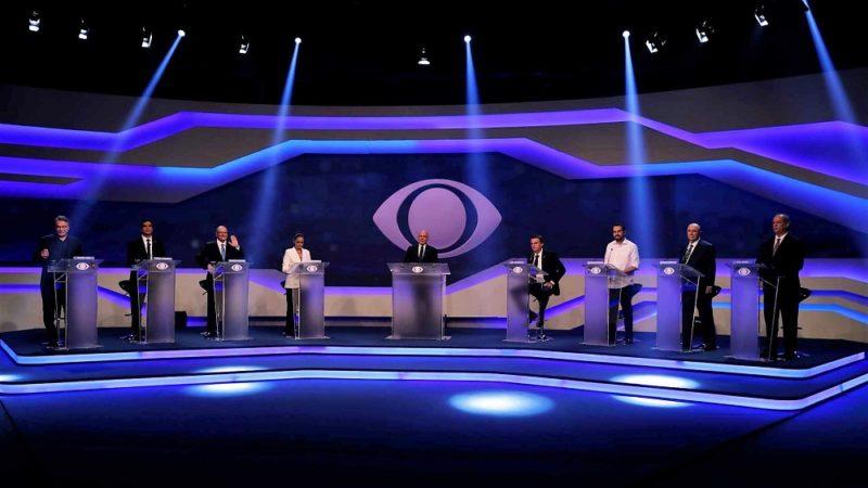 Presidenciáveis como Geraldo Alckmin (PSDB) e Ciro Gomes (PDT) não foram confrontados com seus pontos fracos, como o escândalo da Dersa, no caso do ex-governador de São Paulo, ou o temperamento explosivo do ex-governador do Ceará.