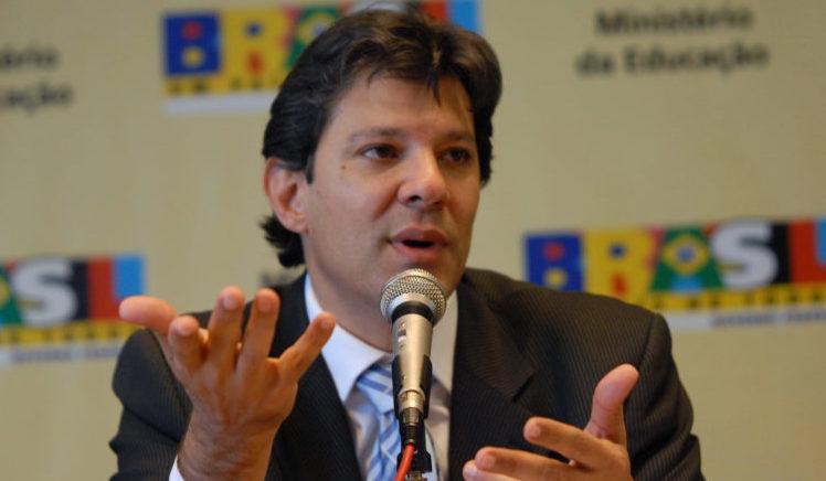 HADDAD MINISTERIO DESPESAS