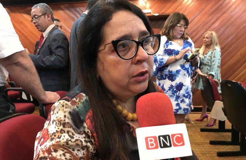 Acordo Leda Mara, nova chefe do MP-AM