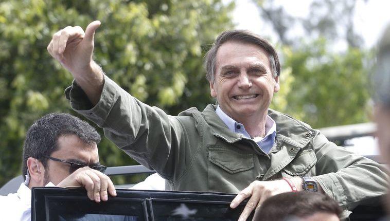 Bolsonaro é o presidente eleito para os próximos quatro anos