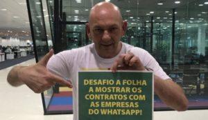 """""""Jamais fiz fake news contra STF"""", afirma Luciano Hang, da Havan"""
