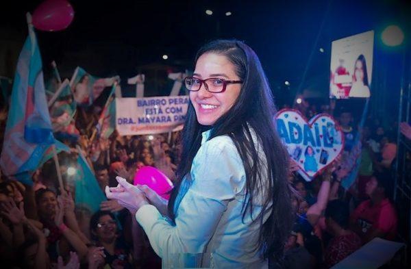 Progressistas vão incensar deputada Mayara a prefeita de Manaus