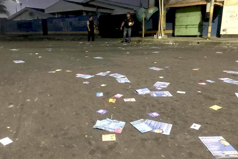 Sujeira feita por candidatos que espalharam santinhos nas ruas tem relatório no TRE-AM