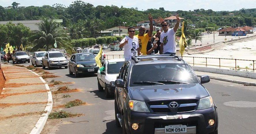 PSL-AM segue no interior buscando votos para Bolsonaro