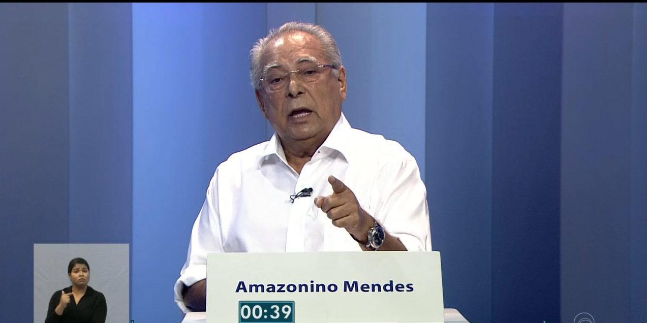 Amazonino Mendes - debate TV AM