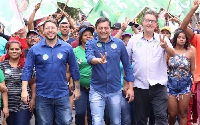 Wilson Lima inicia hoje campanha de segundo turno pela capital