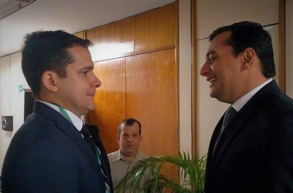 Alberto Neto e Wilson Lima