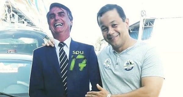 """Delegado Pablo, um fiel aliado de Bolsonaro, só que """"no mucho"""""""