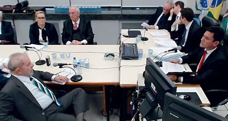 """Lula profetizou a Moro como Bolsonaro ia """"jogá-lo n'água"""""""