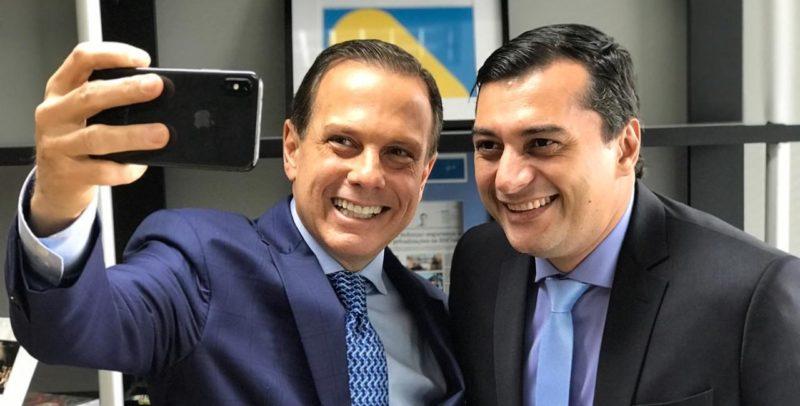 João Doria e Wilson Lima