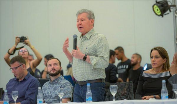 Arthur antecipa preocupação pela ZFM com reforma de Bolsonaro