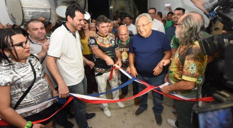 Amazonino prestigia inauguração de projeto social da Reino Unido
