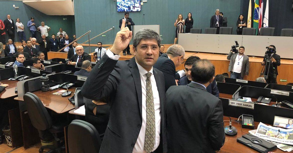 Joelson confirma raridade e é eleito presidente da Câmara Municipal