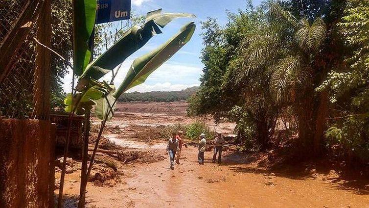 Nova destruição por barragem da Vale do Rio Doce em Minas