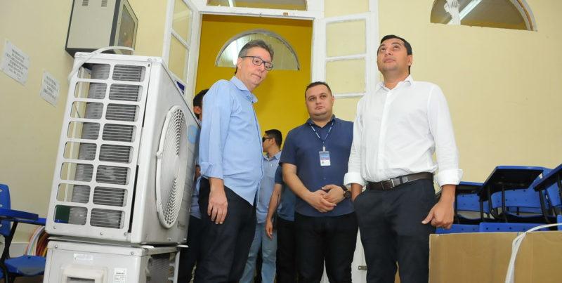 Com R$ 4 milhões, Seduc inicia recuperação emergencial em escolas