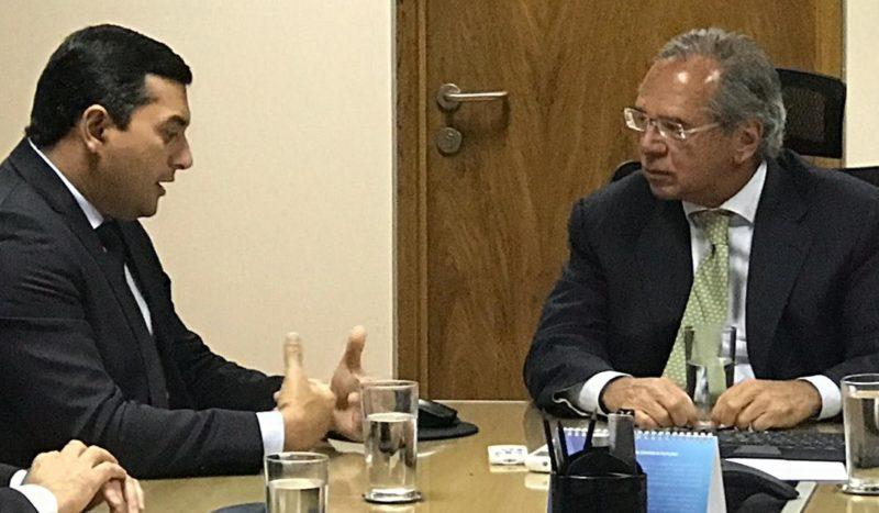 Guedes diz a Wilson que não mexe nos empregos da ZFM