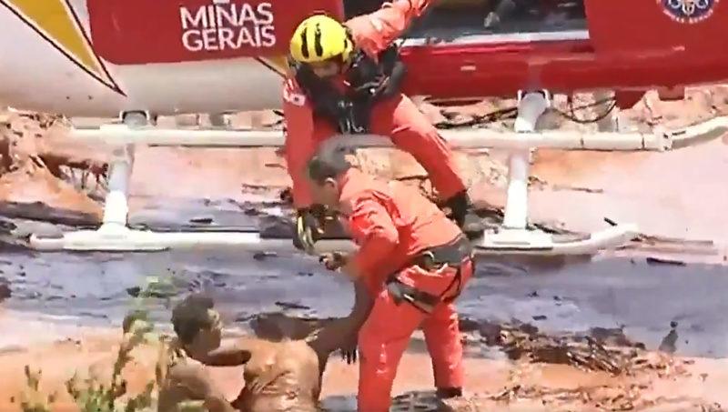 Sirene toca e comunidades são evacuadas em Brumadinho