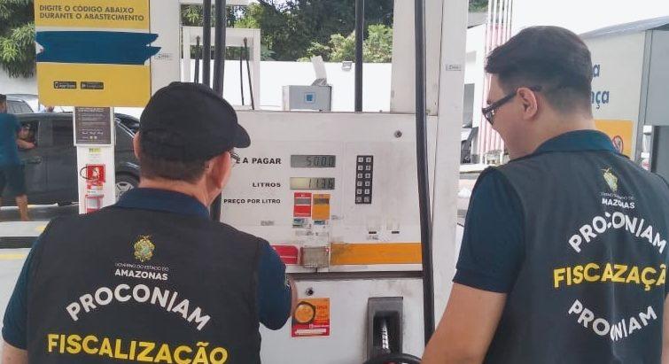 Procon litro gasolina