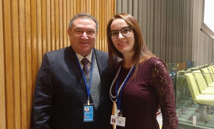 Átila Lins participa de audiência nas Nações Unidas