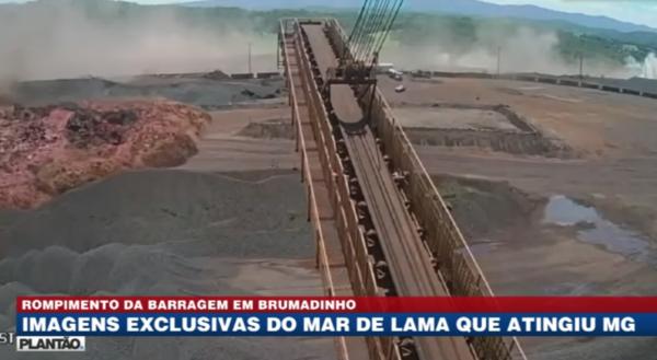 VÍDEO INÉDITO mostra lama arrastando tudo pela frente na tragédia de Brumadinho