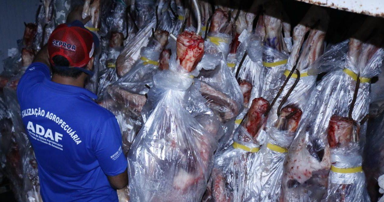 MPF quer R$ 1,9 milhão de frigorífico no Amazonas por vender carne ilegal