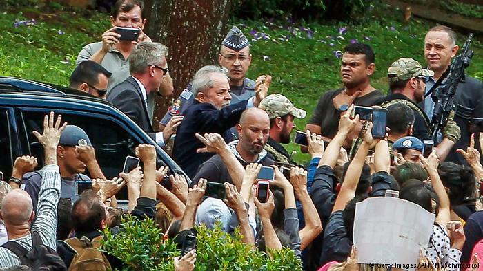 Operação Lula mobiliza 275 policiais em nove horas de liberdade