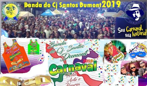 Folia do carnaval festeja 22 anos da banda e 40 do Santos Dumont