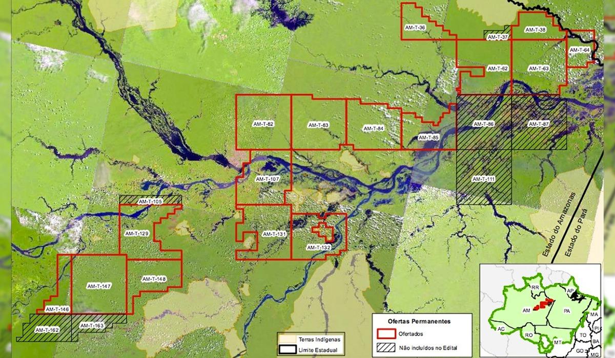 MPF pede que ANP retire de leilão blocos de petróleo e gás do AM