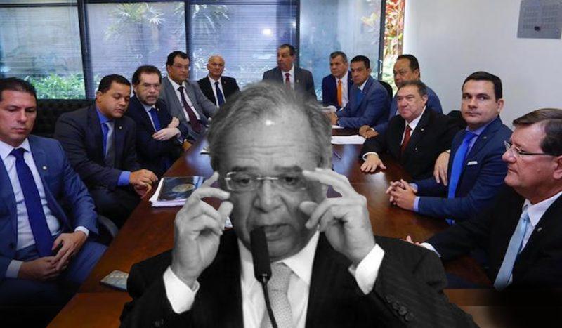 Paulo Guedes encara bancada do AM após entrevista desastrosa