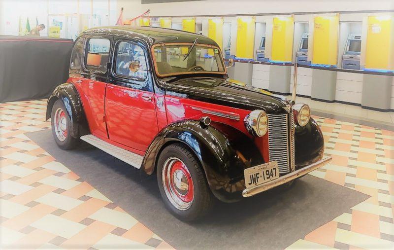 Austin 1947, carro é atração do pré-lançamento de evento de antigos
